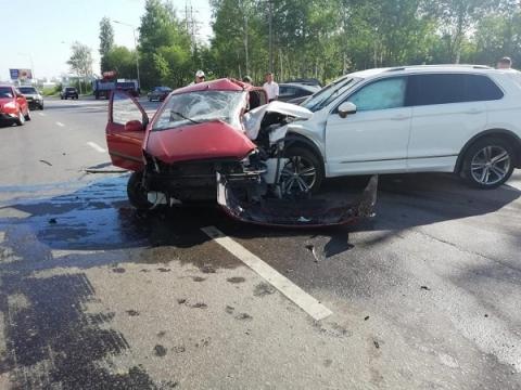 Женщина погибла в ДТП на ул. Академика Сахарова в Нижнем Новгороде утром 22 июня