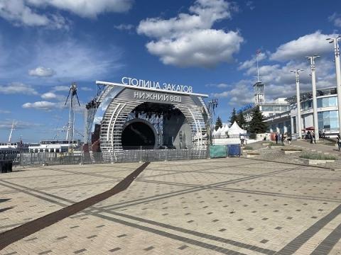 Нижегородские власти продлили «Столицу закатов» до 25 сентября