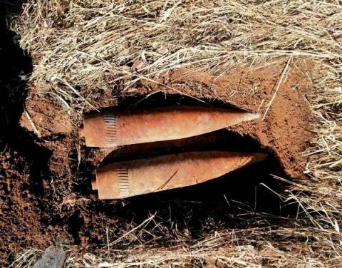 Росгвардейцы уничтожили найденные на Бору снаряды времен ВОВ