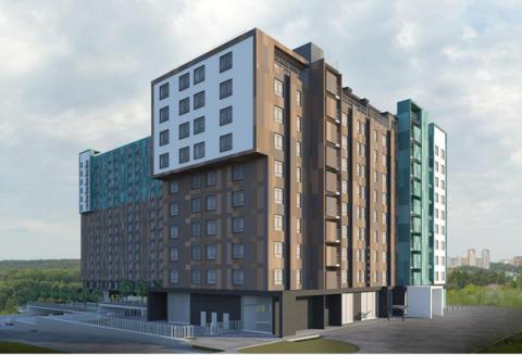 Строительство апарт-отеля планируется рядом с Кузнечихой в Нижнем Новгороде