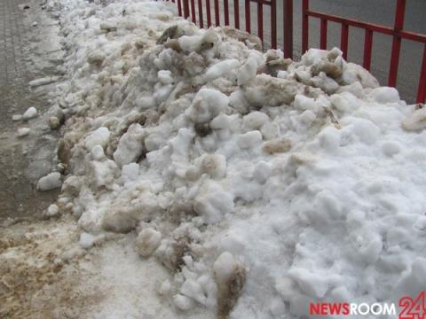 Нижегородские власти проверили незаконное складирование снега в мае