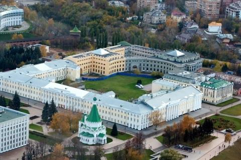 Достройкой части Дома правительства в Нижегородском кремле займется «Комплексстрой»