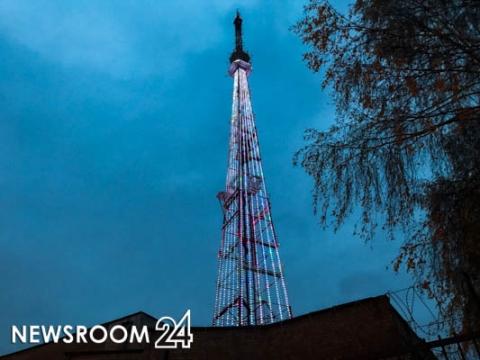 Художественную подсветку будут включать на нижегородской телебашне с 15 по 20 мая