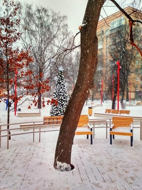 """Нижегородские дети летят с горки на """"камни"""" в сквере Свердлова"""