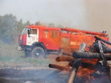 Артемовские луга горят в Нижегородской области на площади 9 га