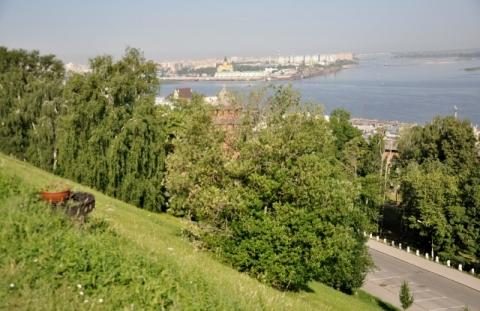 Режим повышенной готовности введен в Нижнем Новгороде из-за опасного склона