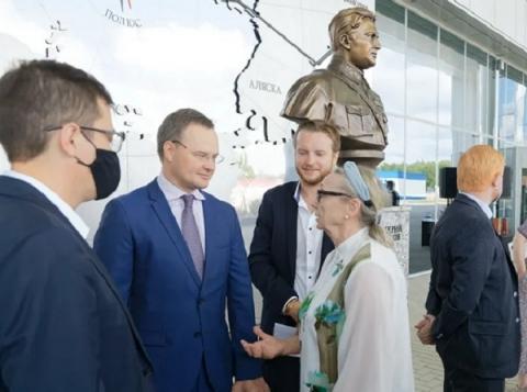 В нижегородском аэропорту открылась выставка в честь Валерия Чкалова