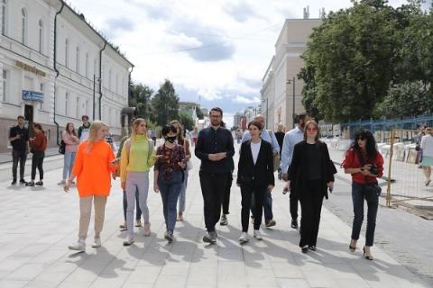 Большая Покровская готова к 800-летию Нижнего Новгорода на 95%