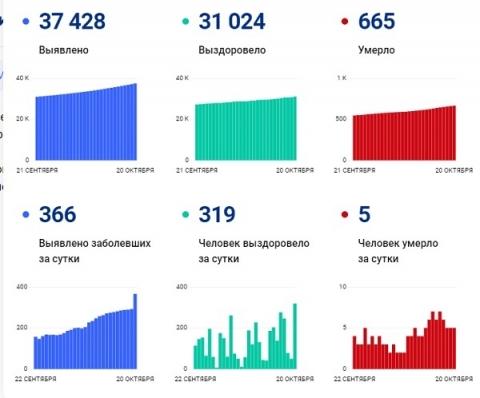 Стопкоронавирус.рф и нижегородский Минздрав разошлись в СOVID-статистике