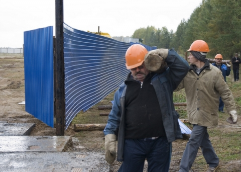 Госинспекция труда проверяет забастовку рабочих на стройке трассы М-12 в Арзамасе