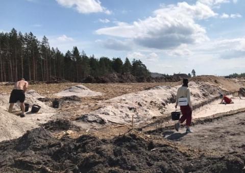 Археологические раскопки начались на строительстве трассы М-12 в Нижегородской области