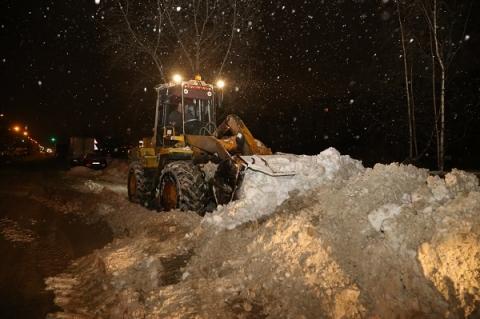 Почти миллион кубометров снега вывезли из Нижнего Новгорода этой зимой