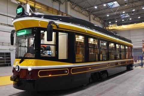 Второй ретро-вагон прибыл в Нижний Новгород