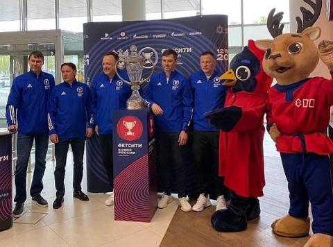 Кубок России по футболу прибыл в Нижний Новгород 10 мая