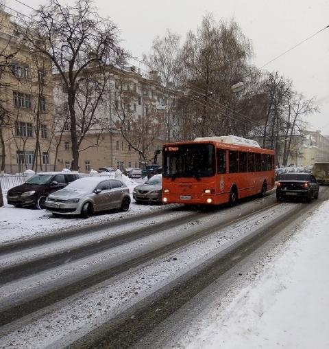 Минтранс объяснил задержку автобусов в Нижнем Новгороде в феврале