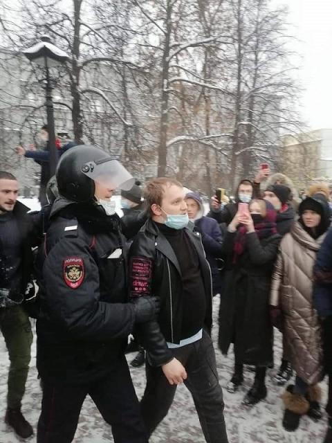 В Нижнем Новгороде задержаны около 30 участников акции протеста