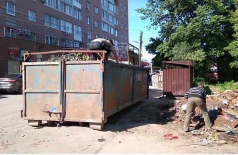 Жители Советского района добились ликвидации незаконной свалки