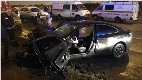 Пятеро пострадали в ДТП на Похвалинском съезде в Нижнем Новгороде