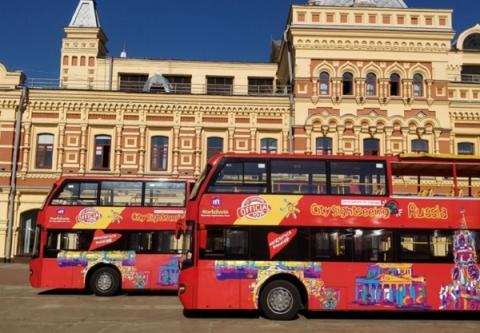 Двухэтажные автобусы начнут курсировать по Нижнему Новгороду с 25 декабря