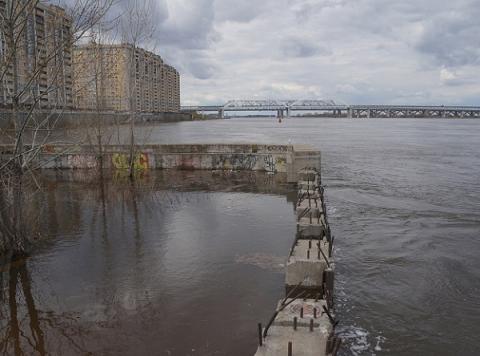 Нижегородцев предупредили о возможной ЧС из-за подъема воды на Волге