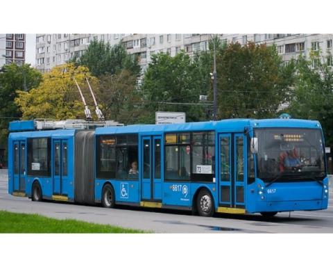 Нижний Новгород получит восемь троллейбусов-гармошек