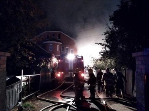 Пациентов нижегородского дома милосердия эвакуировали из-за пожара по соседству