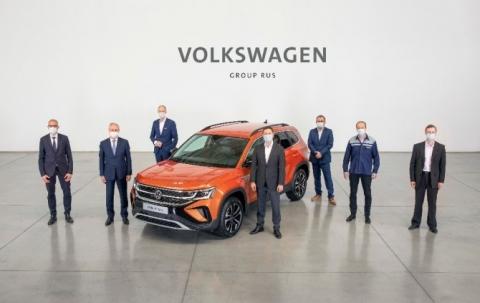 Производство кроссовера Volkswagen Taos началось в Нижнем Новгороде