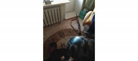 Жителя Нижнего Новгорода задержали за стрельбу с балкона из ружья