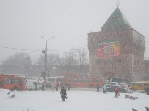 Морозы до -23 градусов и снег ожидаются в Нижнем Новгороде на неделе до 21 февраля