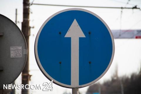 Одностороннее движение введут на участке Верхне-Печерской улицы с 16 августа