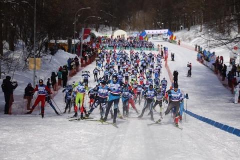 Опубликованы фото лыжного марафона «Нижний 800»