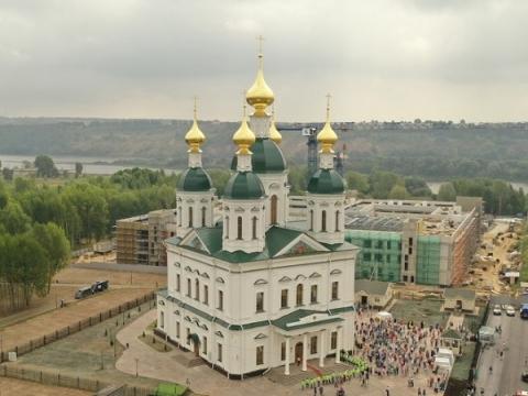 Храм в честь Георгия Всеволодовича освящен в Нижнем Новгороде