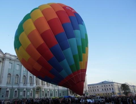 Международный фестиваль тепловых аэростатов стартует в Нижнем Новгороде 15 августа