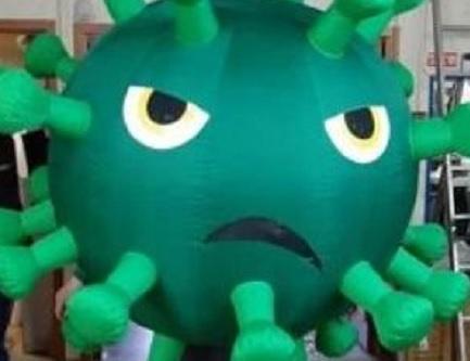 Нижегородцы покупают к Хэллоуину костюмы коронавируса