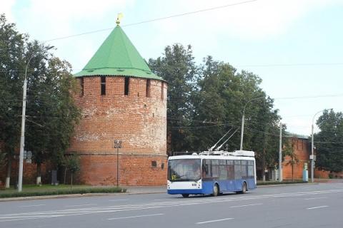Москва пополнила парк Нижнего Новгорода 22 троллейбусами