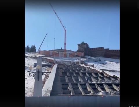 Чкаловскую лестницу в Нижнем Новгороде будут реставрировать до 1 августа