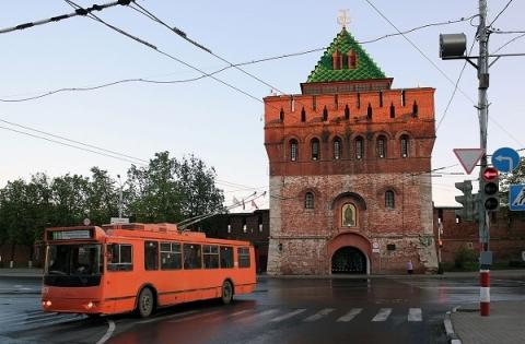 В центре Нижнего Новгорода по-новому закольцуют троллейбусы