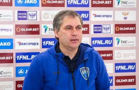 Роберт Евдокимов отстранен от должности главного тренера ФК «Нижний Новгород»