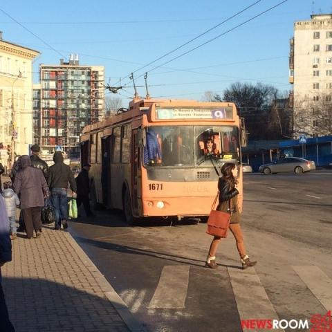 Движение троллейбусов по Варварской в Нижнем Новгороде приостановят с 31 июля