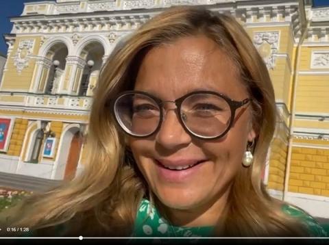 Ирина Пегова рассказала о старте актерской карьеры в Нижнем Новгороде