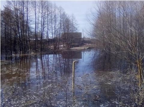 Восемь мостов и две дороги затоплены в Нижегородской области к 14 апреля