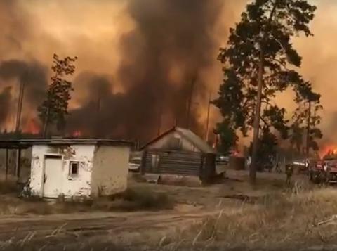 Пожар в Сарове перекинулся на городскую зону ЗАТО