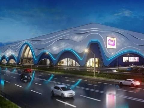 Нижегородский аквапарк на проспекте Гагарина готовят к сдаче в эксплуатацию