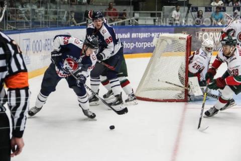 Нижегородское «Торпедо» уступило «Ак Барсу» в первом матче плей-офф
