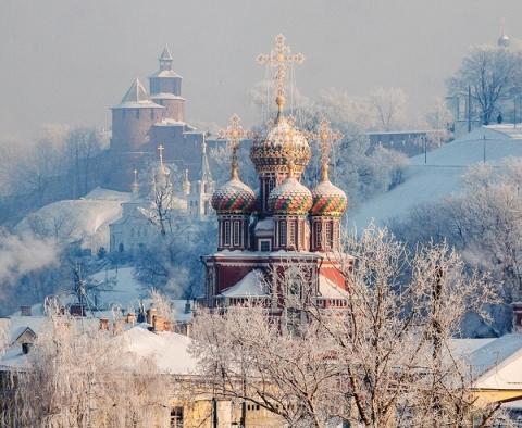 Сильные снегопады начнутся в Нижнем Новгороде с 23 ноября