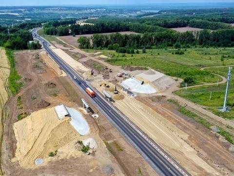 Строительство двух этапов IV очереди Южного обхода Нижнего Новгорода выполнено на 27%
