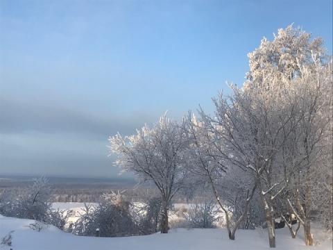 МЧС предупреждает нижегородцев о 30-градусном морозе