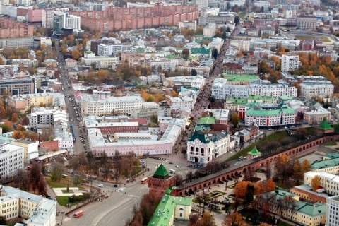 Центр Нижнего Новгорода по стоимости жилья обогнал центр Петербурга