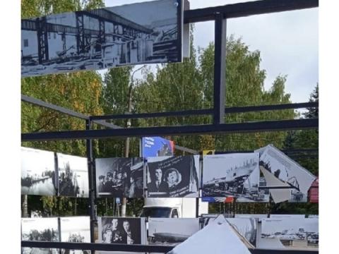 В Нижнем Новгороде вандалы уничтожили фотовыставку в честь победы в ВОВ