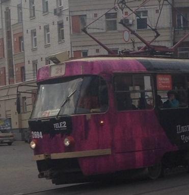 Трамвай с пассажирами загорелся в Нижнем Новгороде 25 января